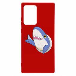 Чехол для Samsung Note 20 Ultra Ikea Shark Blahaj