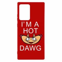 Чехол для Samsung Note 20 Ultra Im hot a dawg