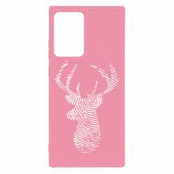 Чохол для Samsung Note 20 Ultra Imprint of human skin in the form of a deer