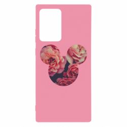 Чохол для Samsung Note 20 Ultra Inner world flowers mickey mouse