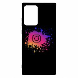 Чехол для Samsung Note 20 Ultra Instagram spray