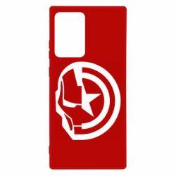 Чохол для Samsung Note 20 Ultra Iron Man and Captain America