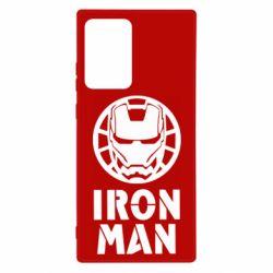 Чохол для Samsung Note 20 Ultra Iron man text