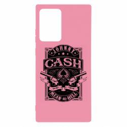 Чохол для Samsung Note 20 Ultra Johnny cash mean as hell