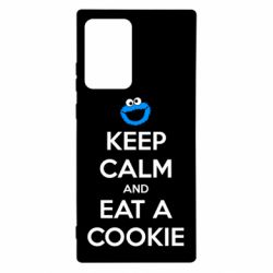 Чехол для Samsung Note 20 Ultra Keep Calm and Eat a cookie