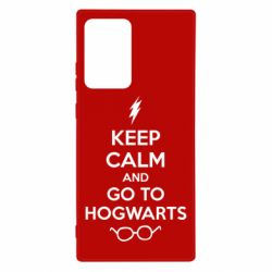 Чехол для Samsung Note 20 Ultra KEEP CALM and GO TO HOGWARTS