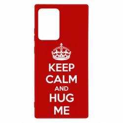 Чохол для Samsung Note 20 Ultra KEEP CALM and HUG ME