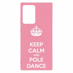 Чехол для Samsung Note 20 Ultra KEEP CALM and pole dance