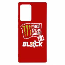 Чехол для Samsung Note 20 Ultra Ken Block Monster Energy