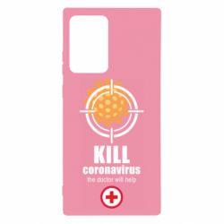 Чехол для Samsung Note 20 Ultra Kill coronavirus the doctor will help