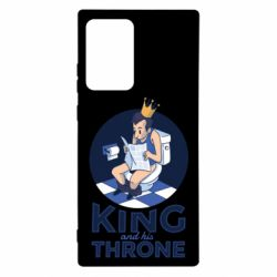 Чохол для Samsung Note 20 Ultra King and his throne