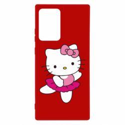 Чехол для Samsung Note 20 Ultra Kitty балярина