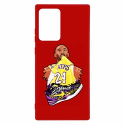 Чехол для Samsung Note 20 Ultra Kobe Bryant and sneakers