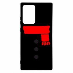 Чохол для Samsung Note 20 Ultra Костюм сніговика