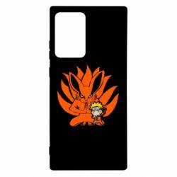 Чохол для Samsung Note 20 Ultra Kurama And Naruto