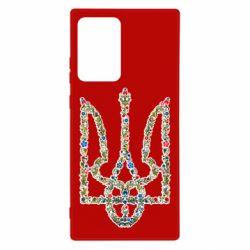 Чехол для Samsung Note 20 Ultra Квітучий герб України