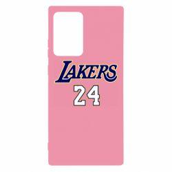 Чехол для Samsung Note 20 Ultra Lakers 24