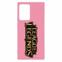 Чехол для Samsung Note 20 Ultra League of legends logo