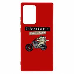 Чохол для Samsung Note 20 Ultra Life is good, take it show