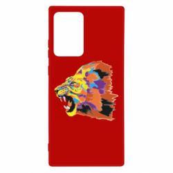 Чехол для Samsung Note 20 Ultra Lion multicolor
