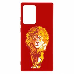 Чохол для Samsung Note 20 Ultra Lion yellow and red