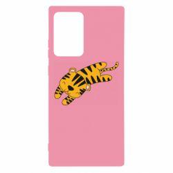 Чехол для Samsung Note 20 Ultra Little striped tiger