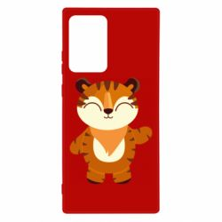 Чехол для Samsung Note 20 Ultra Little tiger with a smile
