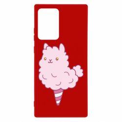 Чехол для Samsung Note 20 Ultra Llama Ice Cream