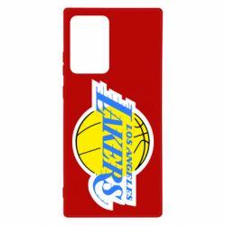 Чехол для Samsung Note 20 Ultra Los Angeles Lakers