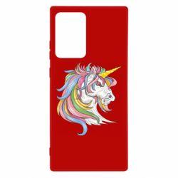 Чохол для Samsung Note 20 Ultra Кінь з кольоровою гривою