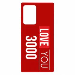 Чехол для Samsung Note 20 Ultra Love 300