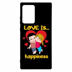 Чохол для Samsung Note 20 Ultra love is...happyness