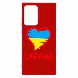 Чохол для Samsung Note 20 Ultra Love Ukraine