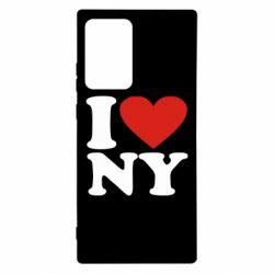 Чохол для Samsung Note 20 Ultra Люблю Нью Йорк