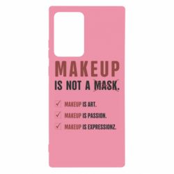 Чехол для Samsung Note 20 Ultra Make Up Is Not A Mask