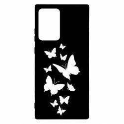 Чохол для Samsung Note 20 Ultra Many butterflies