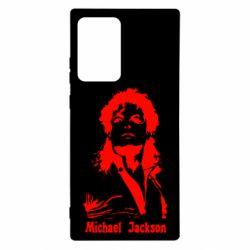 Чехол для Samsung Note 20 Ultra Майкл Джексон