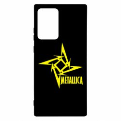 Чехол для Samsung Note 20 Ultra Metallica Logotype