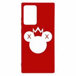 Чохол для Samsung Note 20 Ultra Mickey with a crown