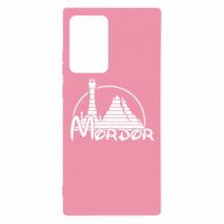 Чехол для Samsung Note 20 Ultra Mordor (Властелин Колец)