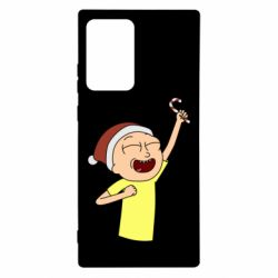 Чехол для Samsung Note 20 Ultra Morty with Christmas candy