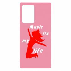 Чохол для Samsung Note 20 Ultra Music it's my life
