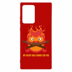Чохол для Samsung Note 20 Ultra MY HEART ONLY  BURNS FOR YOU