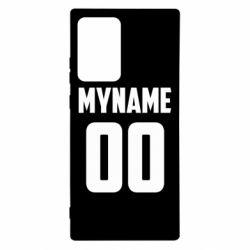 Чохол для Samsung Note 20 Ultra My name American
