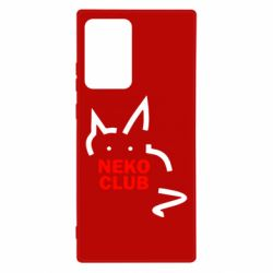 Чохол для Samsung Note 20 Ultra Neko Club