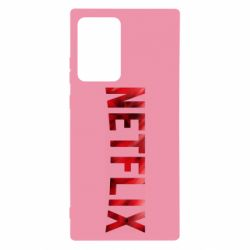 Чехол для Samsung Note 20 Ultra Netflix logo text