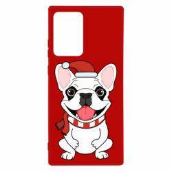 Чехол для Samsung Note 20 Ultra New Year's French Bulldog