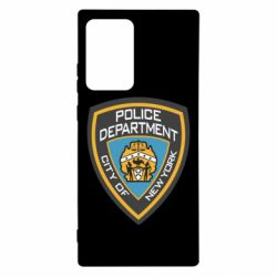 Чехол для Samsung Note 20 Ultra New York Police Department