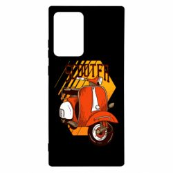 Чохол для Samsung Note 20 Ultra Orange scooter