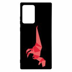 Чехол для Samsung Note 20 Ultra Origami dinosaur